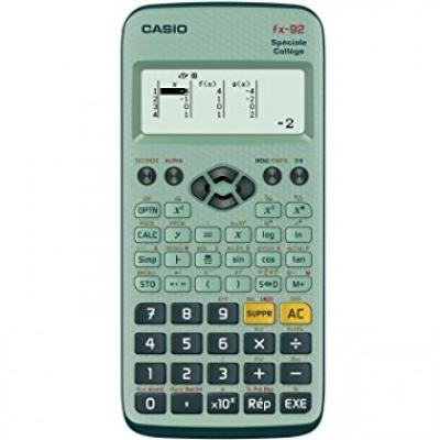 Calculatrice Casio fx-92 +