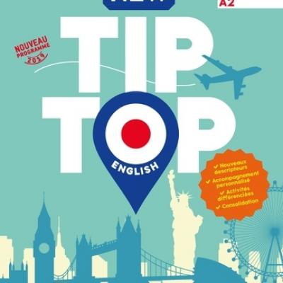 NEW TIP TOP English CAP Ed. 2019-Mannuel élève